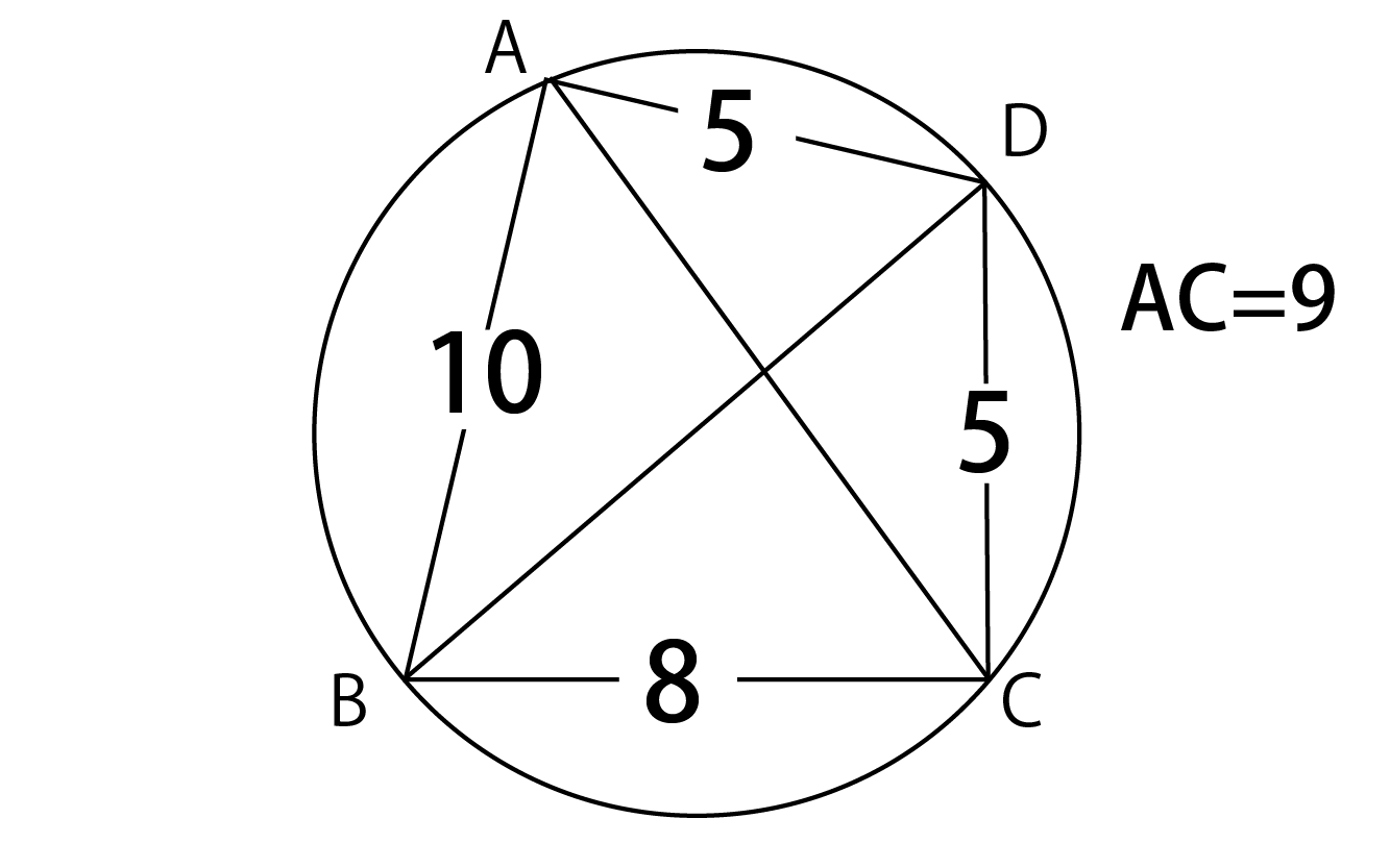 トレミーの定理の問題