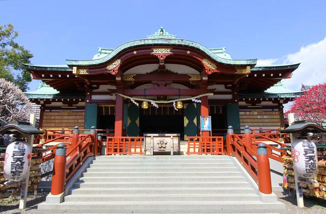 亀戸神社の画像