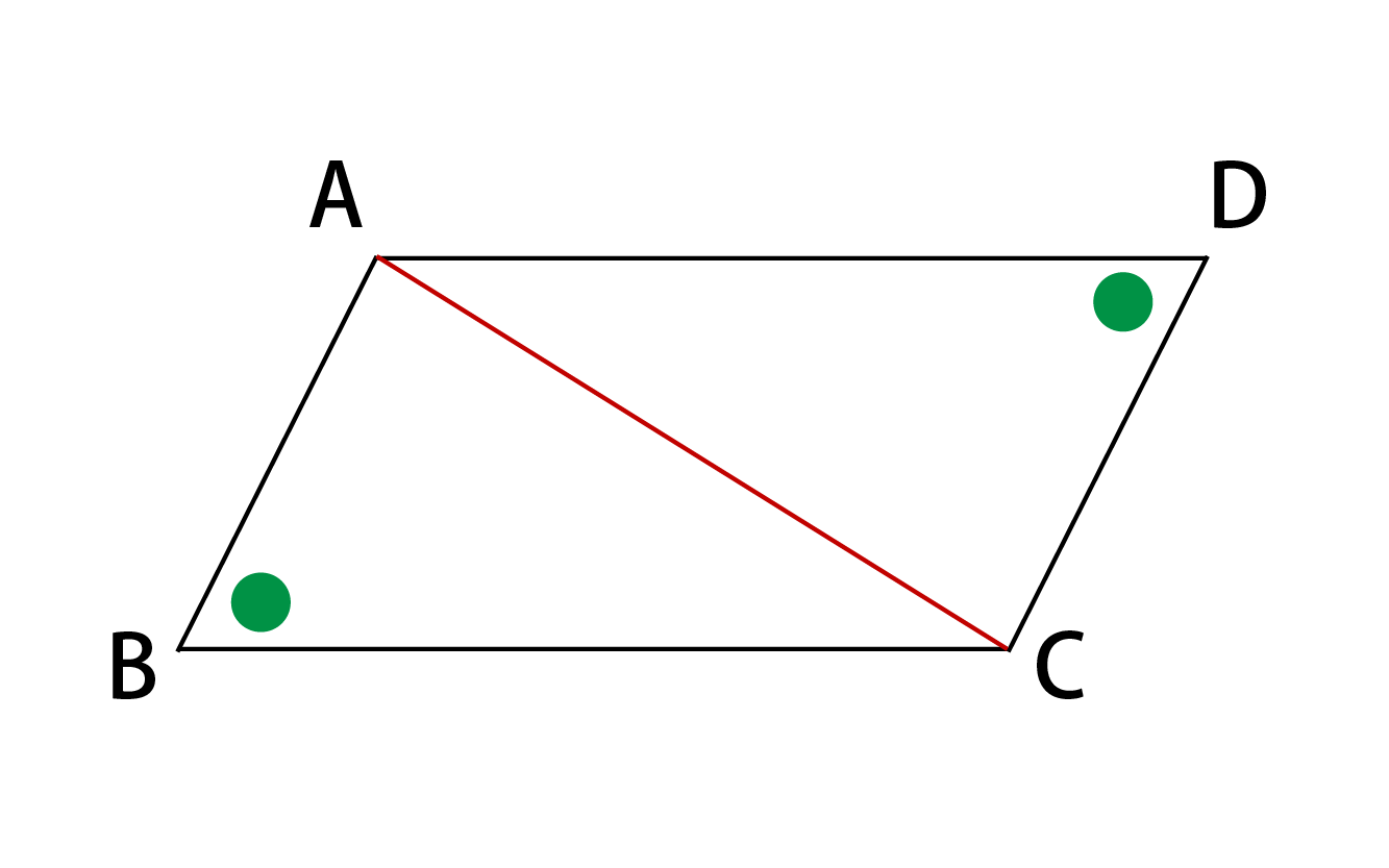平行四辺形の性質その2証明