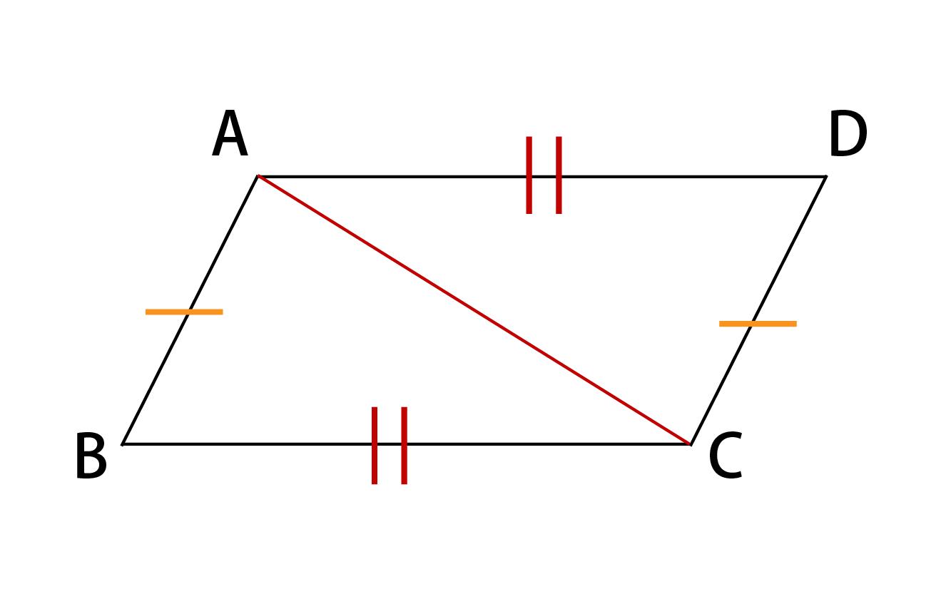 平行四辺形になるための条件その2証明